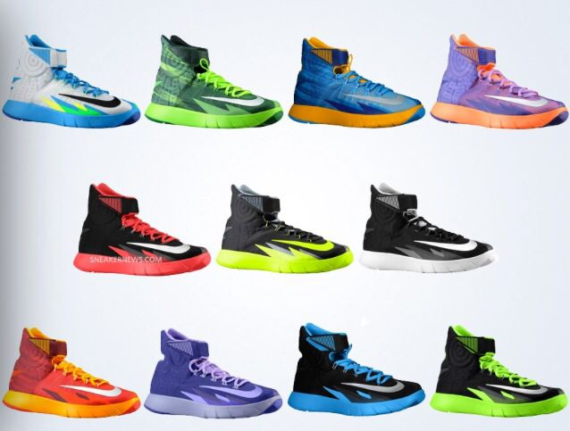 Nike Zoom Hyperrev Colorways Love the black and blue and ...