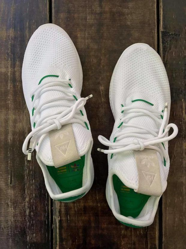 14f4ea89e9903a Pharrell s next collaboration known as the adidas NMD HU features a Stan  Smith inspiration featuring no trace of Boost on the new model. Details here
