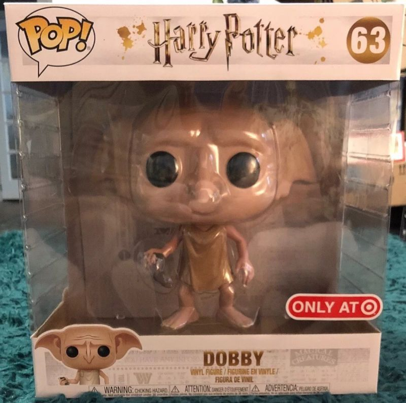 Funko Pop Dobby 63 10 Inch Target Exclusive Harry Potter New Nrfb Funko Pop Funko Pop