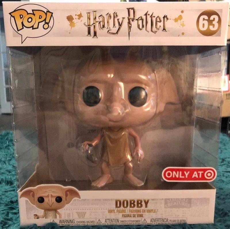 Funko Pop Dobby 63 10 Inch Target Exclusive Harry Potter New Nrfb Funko Pop Funko Pop