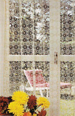 Free Crocheted Curtain Patterns Easy Crochet Patterns Crochet
