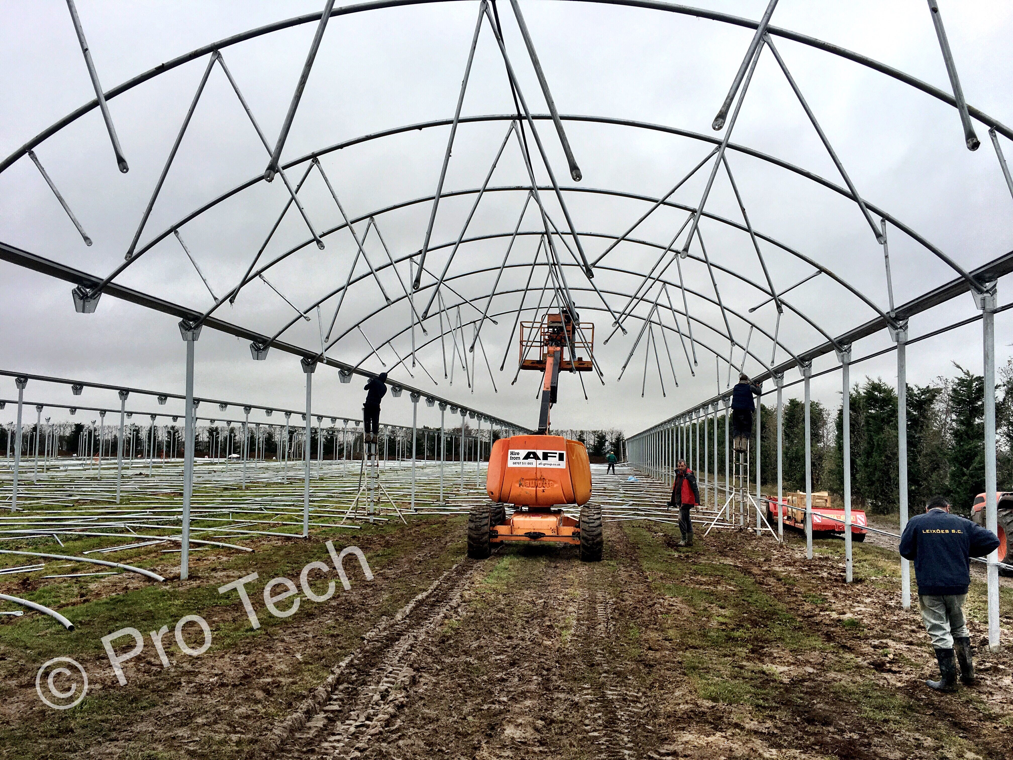 Greenhouse installation in Kent. | Installation, Tech ...