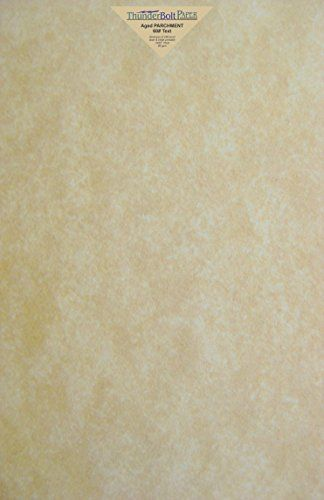 50 Old Age Parchment 60lb Text Weight 11 X 17 Inches Stationery Paper Colored Sheets Tabloid Ledger Size Printa Stationery Paper Light In The Dark Animal Skin