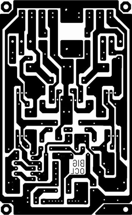PCB layout super OCL 500 Watt Power Amplifier Circuit ...