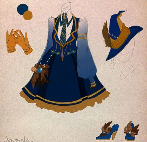RAVENCLAW <book palate> | Cosplay/Lolita/Otome in 2019 | Harry