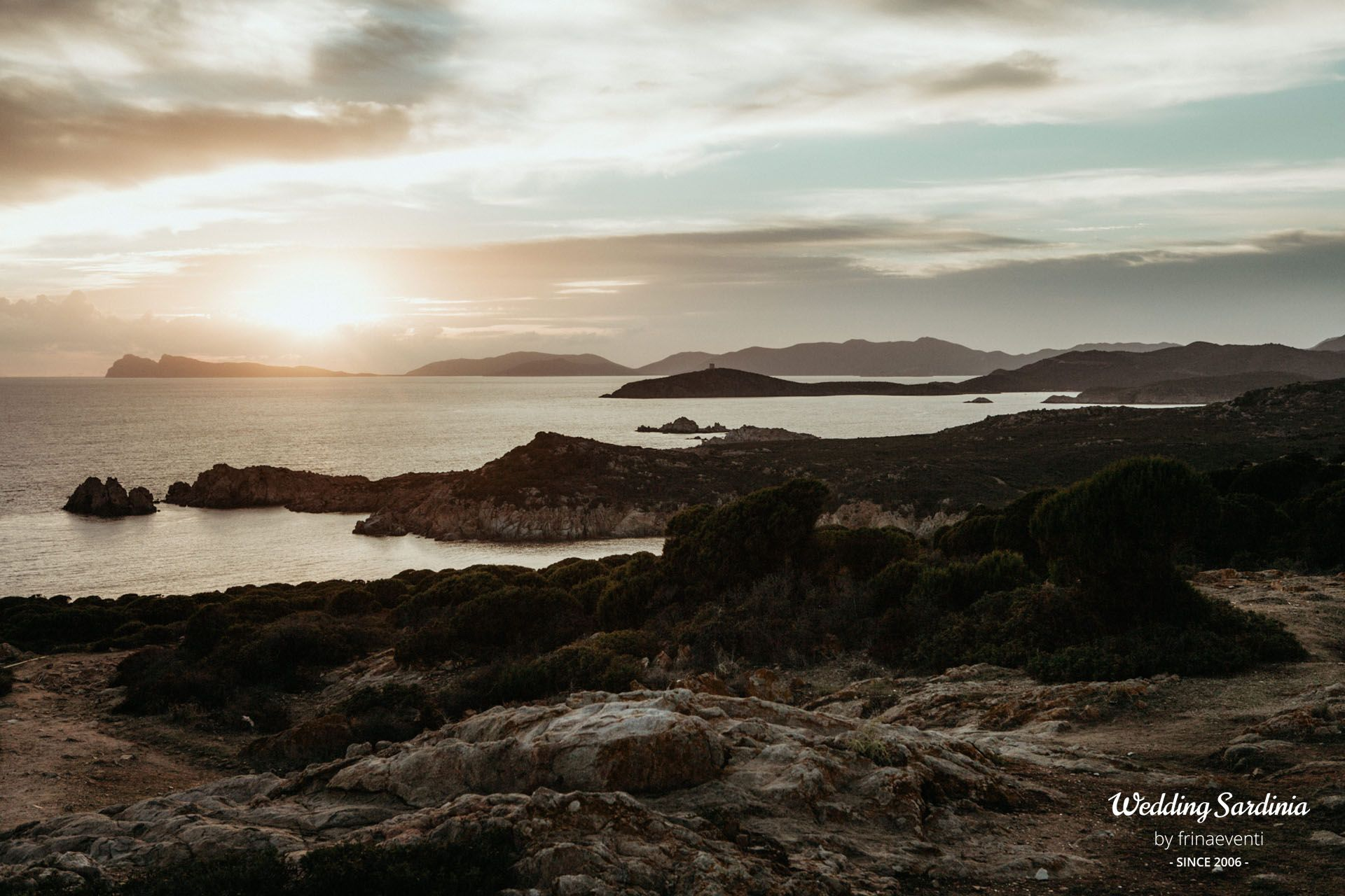 Sardinia is made of terrific sunsets like this, in the south of the Island.