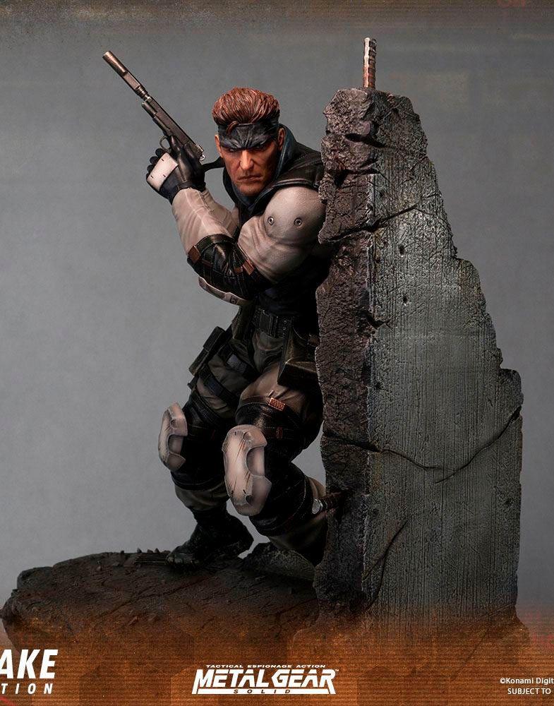 Estatua Solid Snake 44 Cm Metal Gear Solid First 4 Figures
