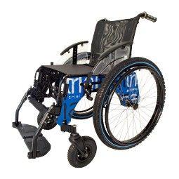 silla ruedas playa autopropulsable