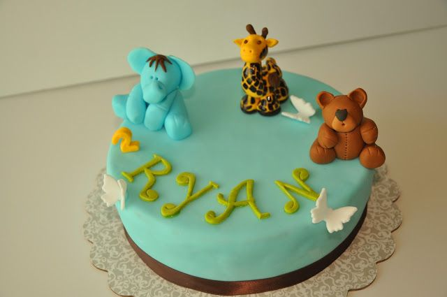 Cake Ideas Boy 1 Year Old
