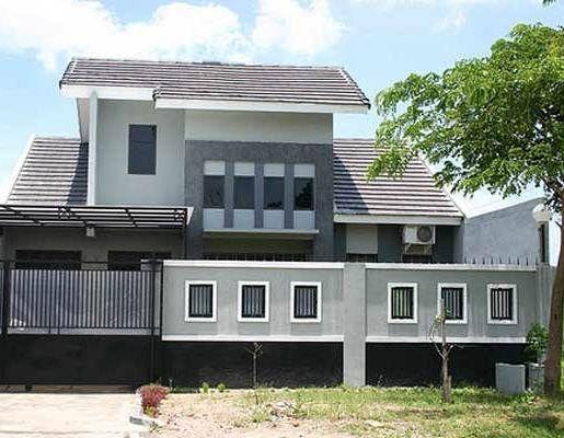 Contoh Tembok Pagar Rumah Terkini