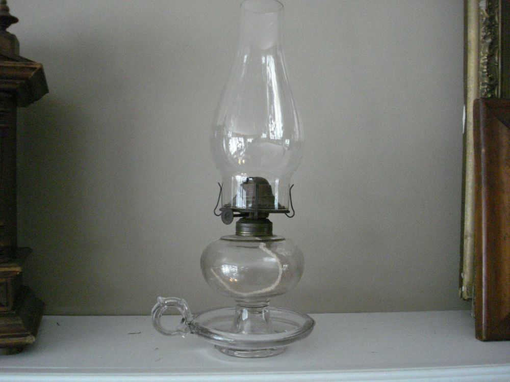 Saucer Footed Oil Lamp 1800 S Oil Lamps Lamp Kerosene Lamp