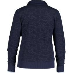 Photo of State of Art Strickjacke, Jacquard, normale Passform State of Art