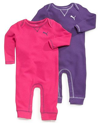 786a93510669c Puma Baby Girls' 2-Pack Rompers - Kids Baby Girl (0-24 months ...