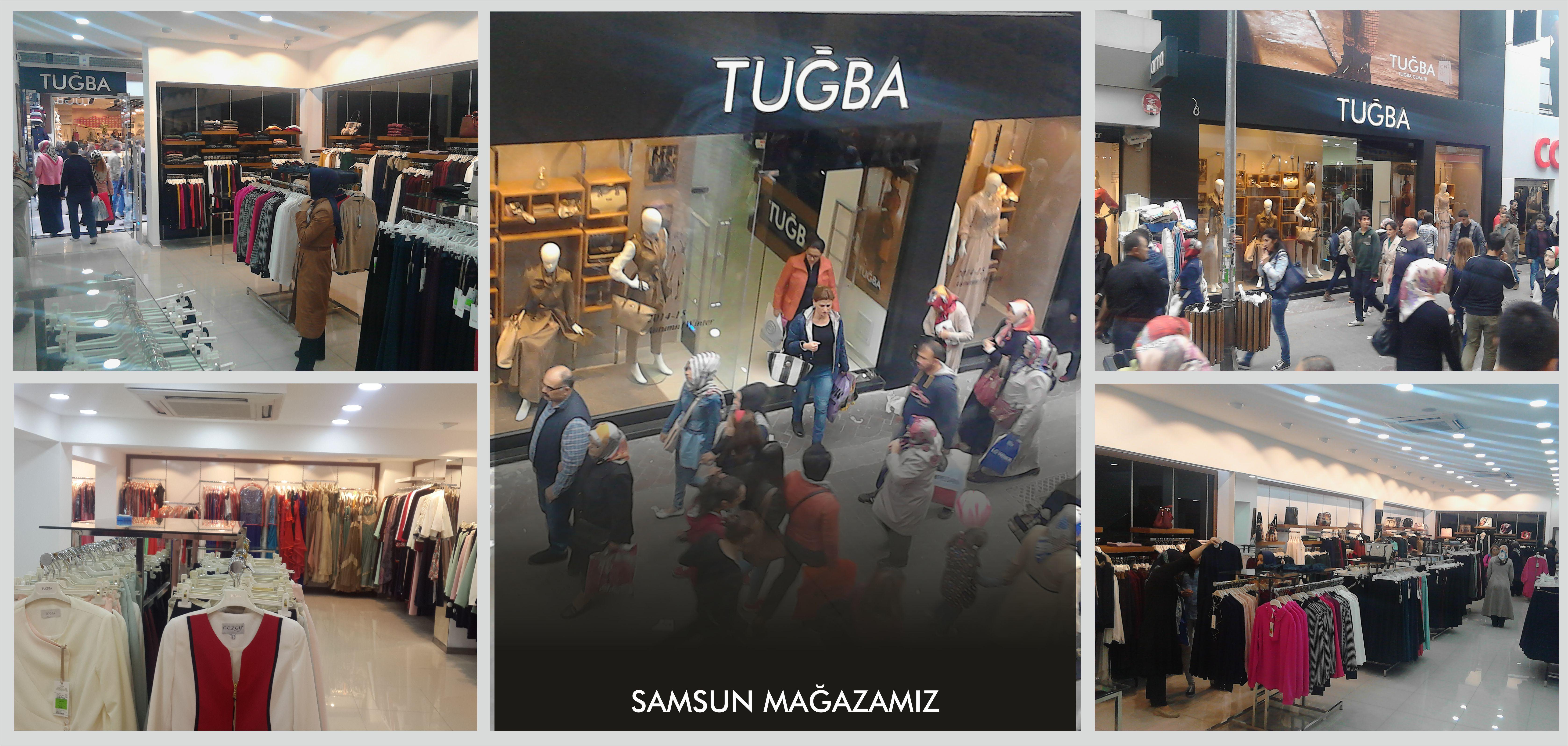 TUĞBA Samsun  http://www.tugbaonline.com/magazalar.aspx