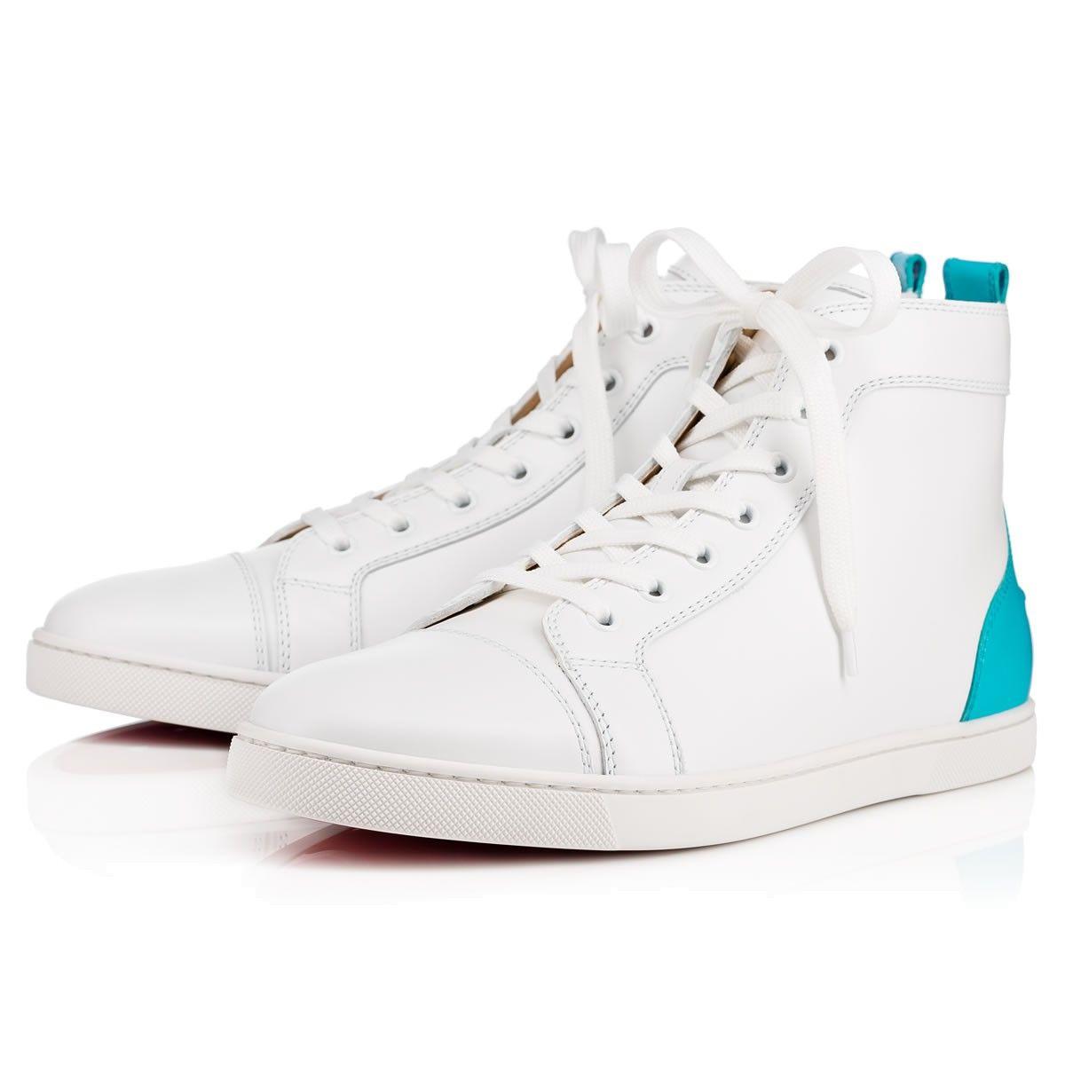 a0b484ef1c24 CHRISTIAN LOUBOUTIN SH Bip Bip Men s Flat White Leather - Men Shoes - Christian  Louboutin.  christianlouboutin  shoes