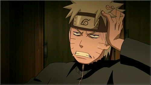 Uzumaki Naruto, Funny, Face, Expression, Blood Prison