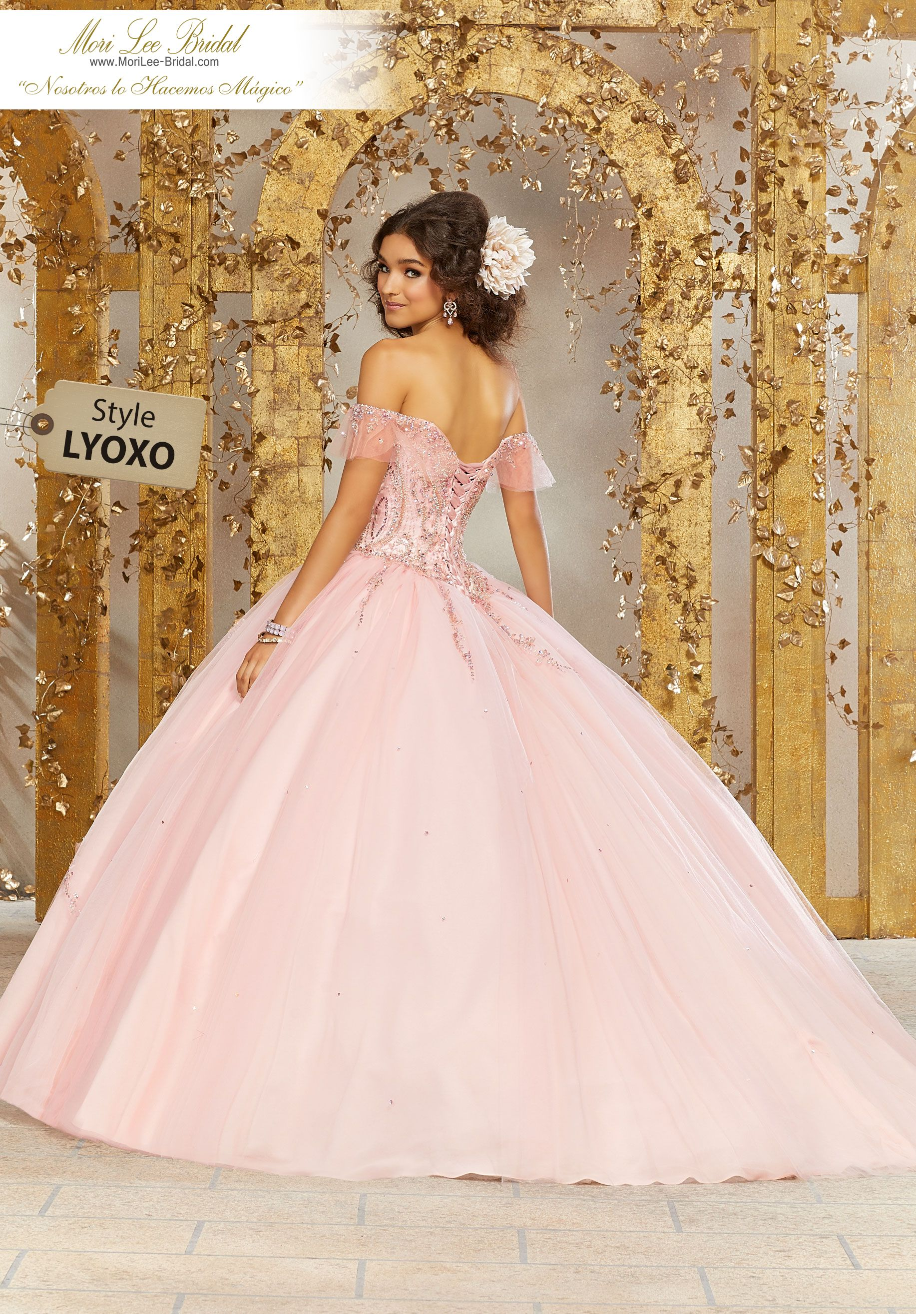 3f7b4154b Crystal Beading on a Tulle Ballgown Tulle Quinceañera Dress Featuring a  Gorgeous Sweetheart Beaded Bodice and