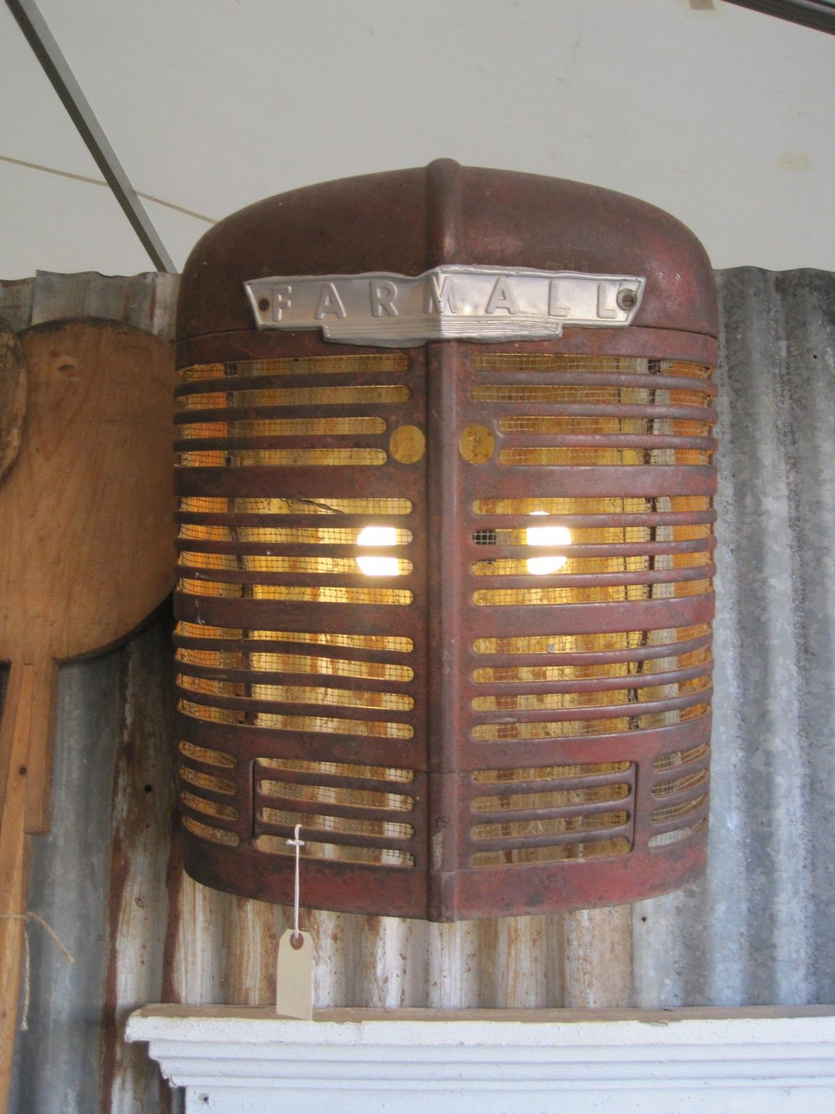 Tractor grille lighting | The Homestead in 2019 | Deco ...