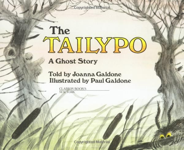 the tailypo a ghost story paul galdone classics