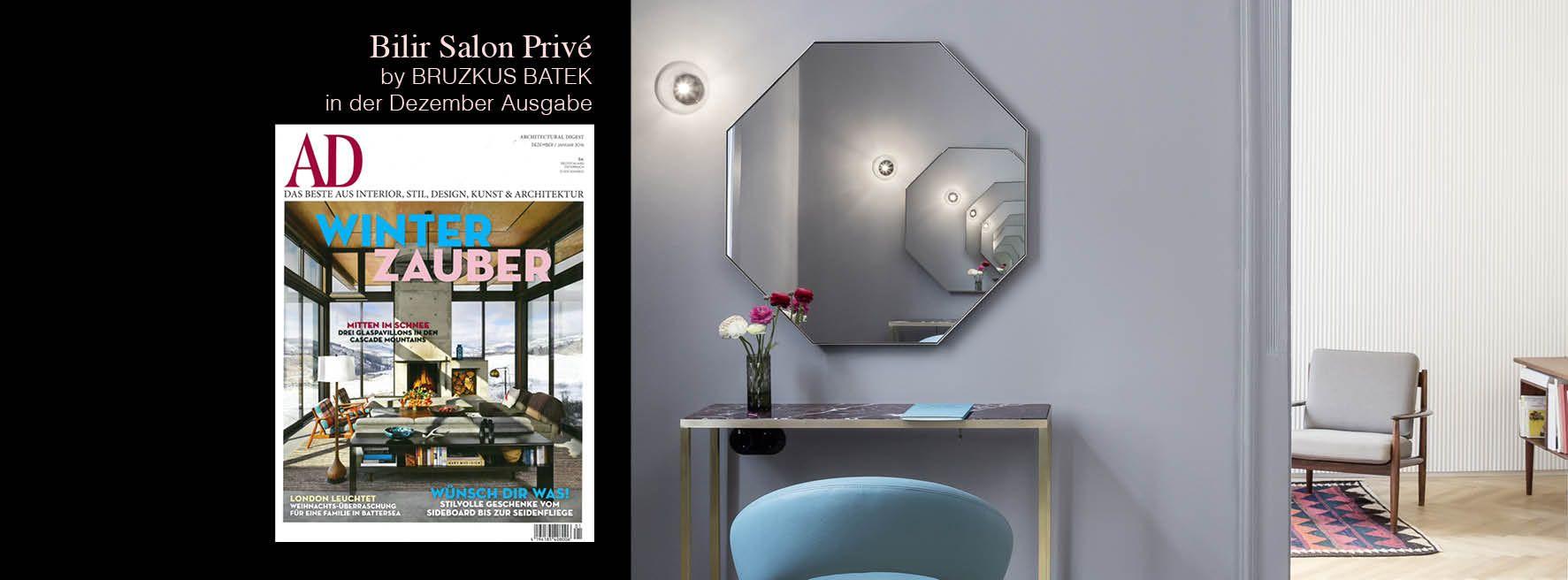 ****Bruzkus Batek bei AD**** Die Dezember Ausgabe der AD Architectural Digest Germany ist da und und wir freuen uns sehr über den tollen Artikel über ein von uns bisher unveröffentlichtes Projekt.