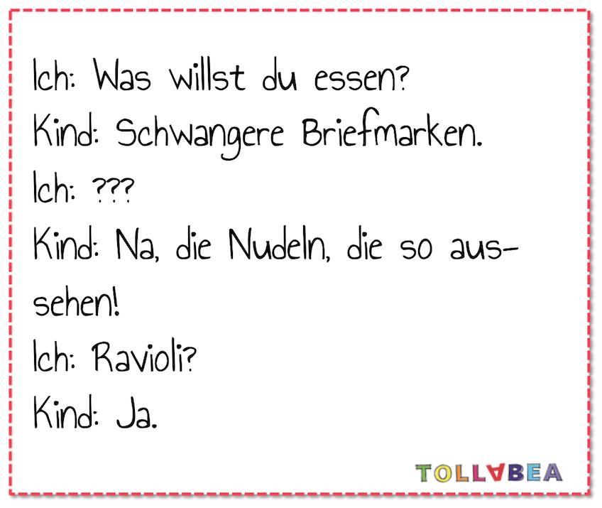 Tolla Tollabea lustige Sprüche rund um Eltern und Kinder