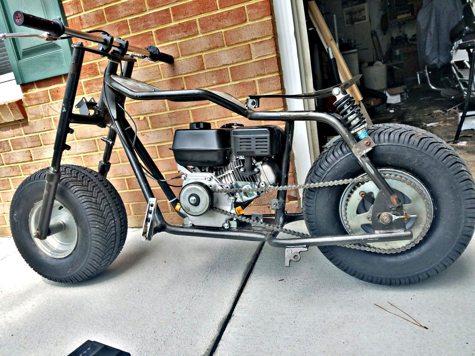 Custom Firehawk Minibike Getting Some New Life And Looking Good