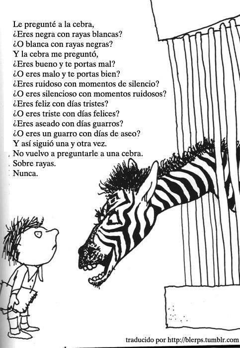 w.. Las rayas de una cebra | Frases!! | Pinterest | Cebras, Rayas y ...