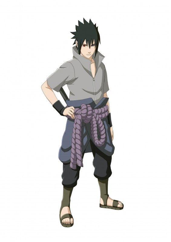Naruto Shippuden Ultimate Ninja Storm 4 Sasuke Rinnegan Artwork