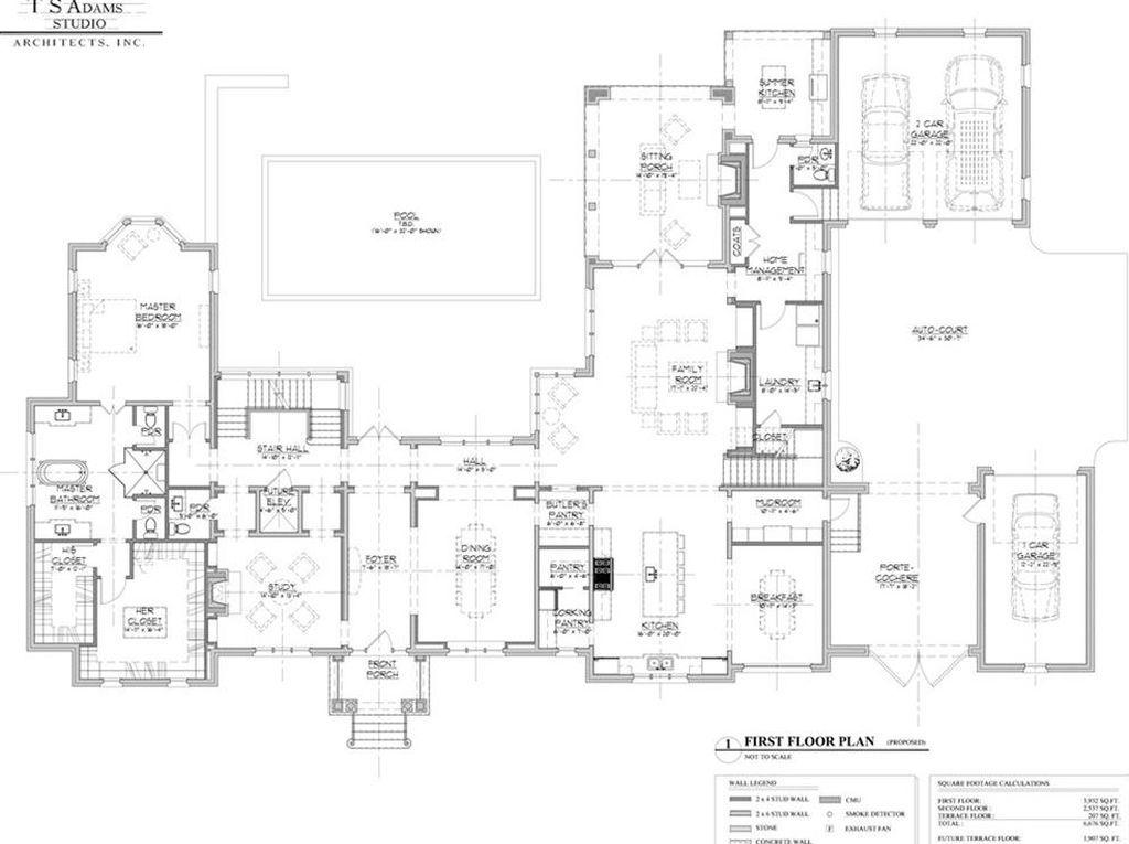 For Sale 1 025 000 Randall Mill Way Is An Exclusive Enclave Of 5 Exceptional 1 Acre Custom Home Sites Ac Studio Floor Plans Luxury House Plans How To Plan