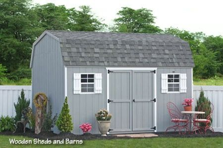 Photo Of Sheds Unlimited   Gap, PA, United States. 10x14 Wooden MaxiBarn  Storage