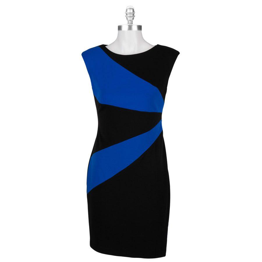 Calvin Klein Starburst Ponte Dress Vonmaur Dresses Ponte Dress Style [ 900 x 900 Pixel ]