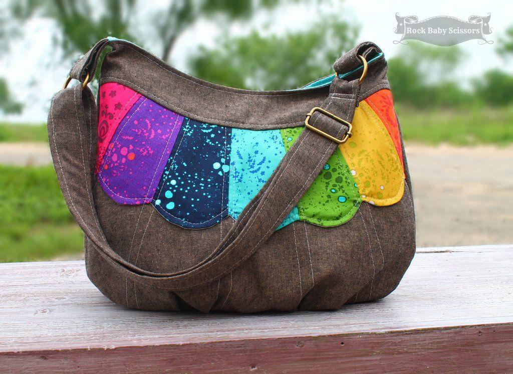 Blue Calla Patterns - The Daisy Cross Body Bag - PDF Sewing pattern ...