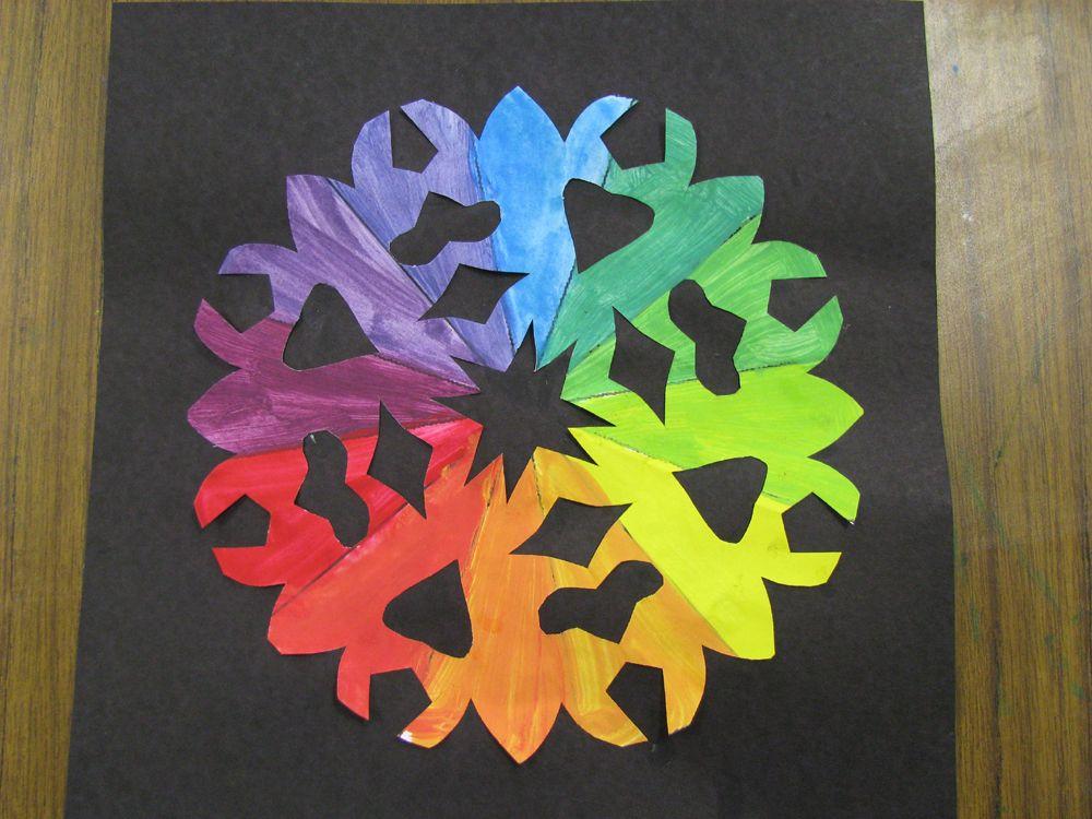 Beardens Art Room Creative Color Wheel Cut Outs
