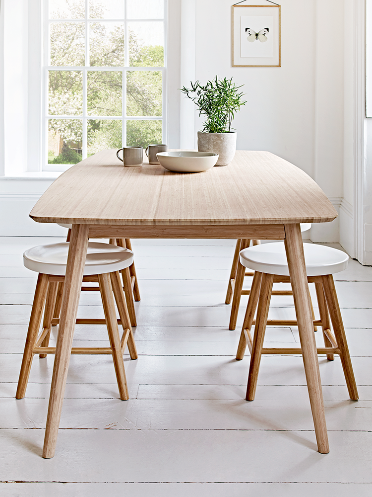 New Aalto Table With Four Low Stools Scandinavian Dining Room Scandinavian Table Scandinavian Dining Table