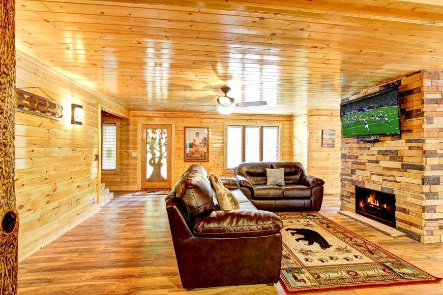 Exceptionnel All American 9 Bedroom Cabin Rental In Gatlinburg