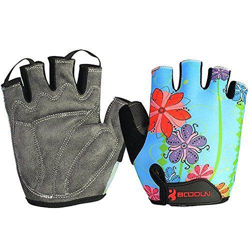 VEBE Bicycle Gloves Half Finger Mountain Bike Bloves Cycling MTB Gel Gloves for Men Fingerless