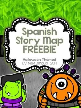 "<strong>Mapa del cuento con tema de Halloween</strong> After reading a Halloween themed story, have students fill these graphic organizers out. Hope you enjoy these printables!!!! Check out <strong>more SPANISH HALLOWEEN</strong> products: <a href=""http://www.teacherspayteachers.com/Product/Halloween-Word-Work-SPANISH-1480485"">Word Work</a><br /><a href=""http://www.teacherspayteachers.com/Product/Halloween-Fact-Opinion-SPANISH-1480528"">Fact & Opinion</a><br /> Need Spanish Sight Word Work?…"
