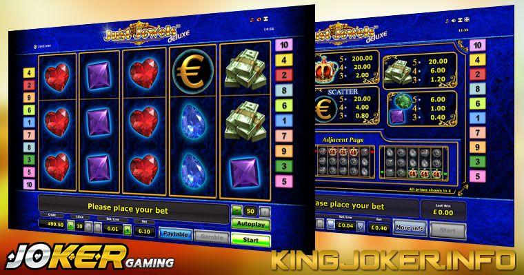 Review Slot Just Jewels Joker Casino Kasino, Joker, Game
