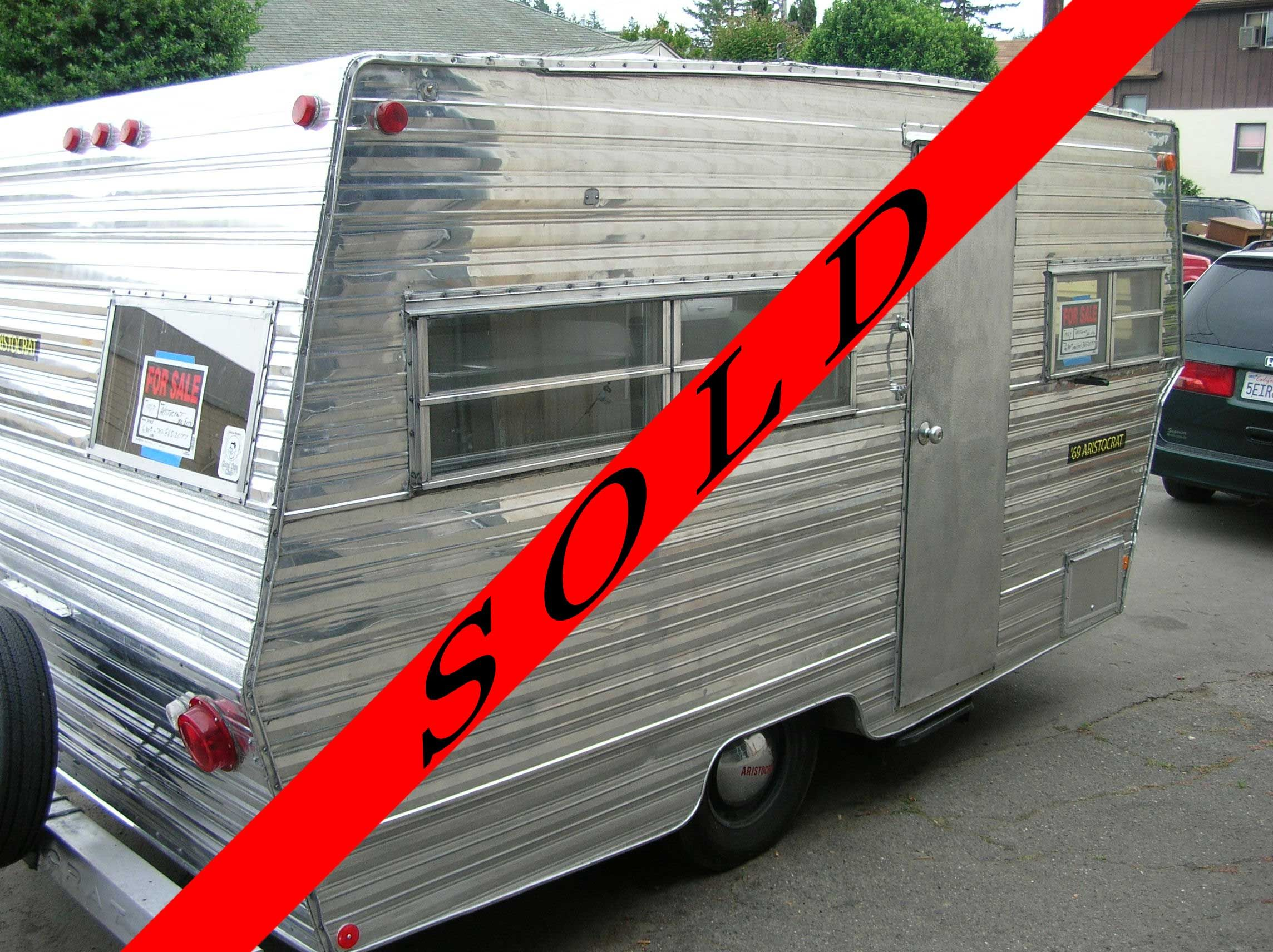 Russian river vintage travel trailers