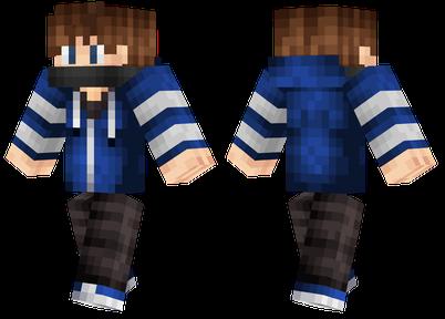 Cool Blue Guy Minecraft Skins Skin Care Women Minecraft Girl Skins