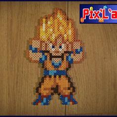Personnage Dragon Ball Unitaire En Perle Hama Mini Patterns Hama