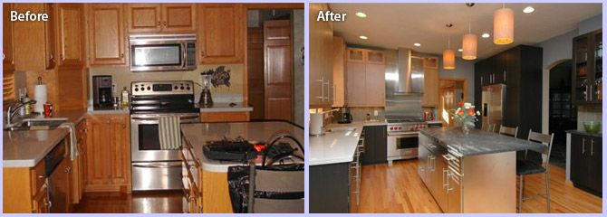 kitchen remodeling before and after photos kitchen design ideas