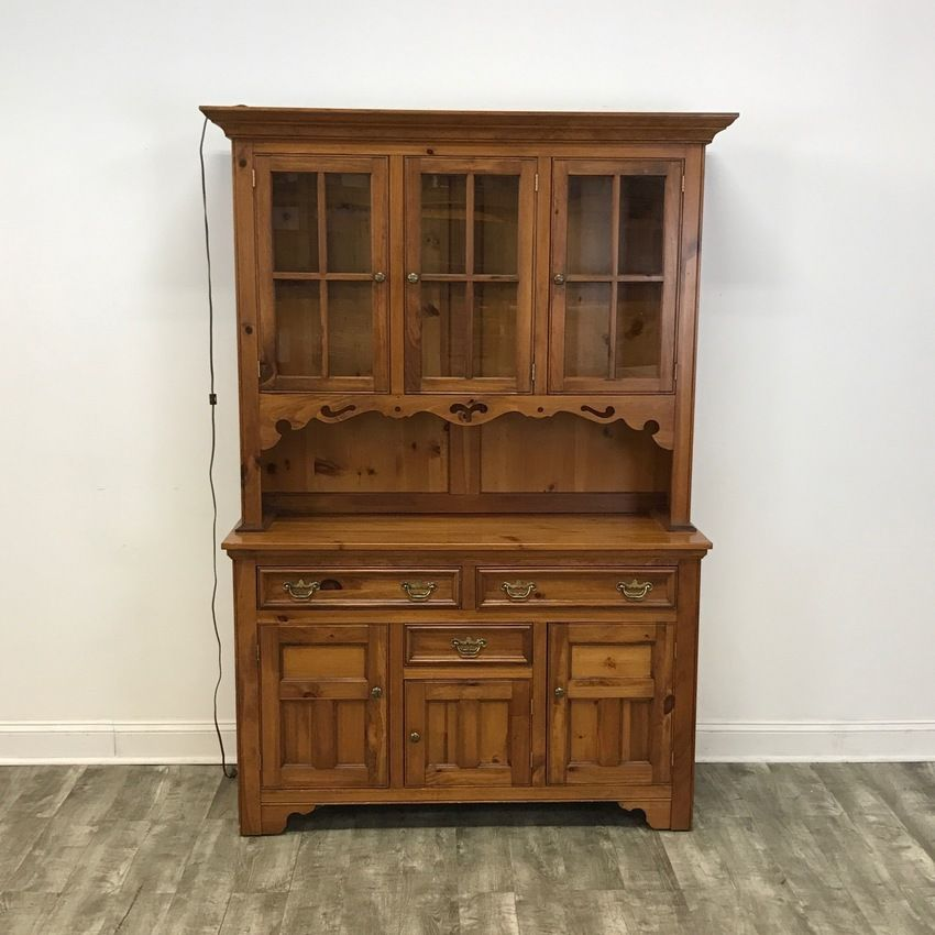 Farm Style Kitchen Display Cabinet by Pennsylvania House ...