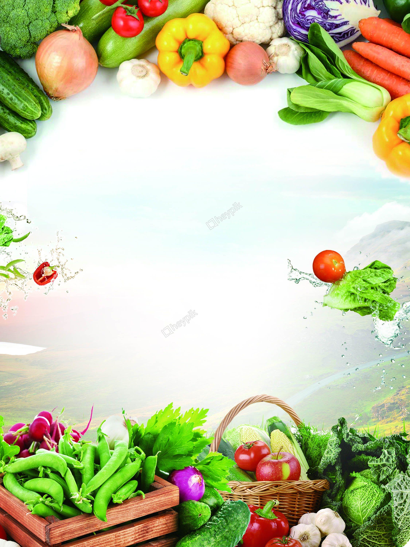 Fruit and vegetable fruit background | Vegetables, Fruits ...