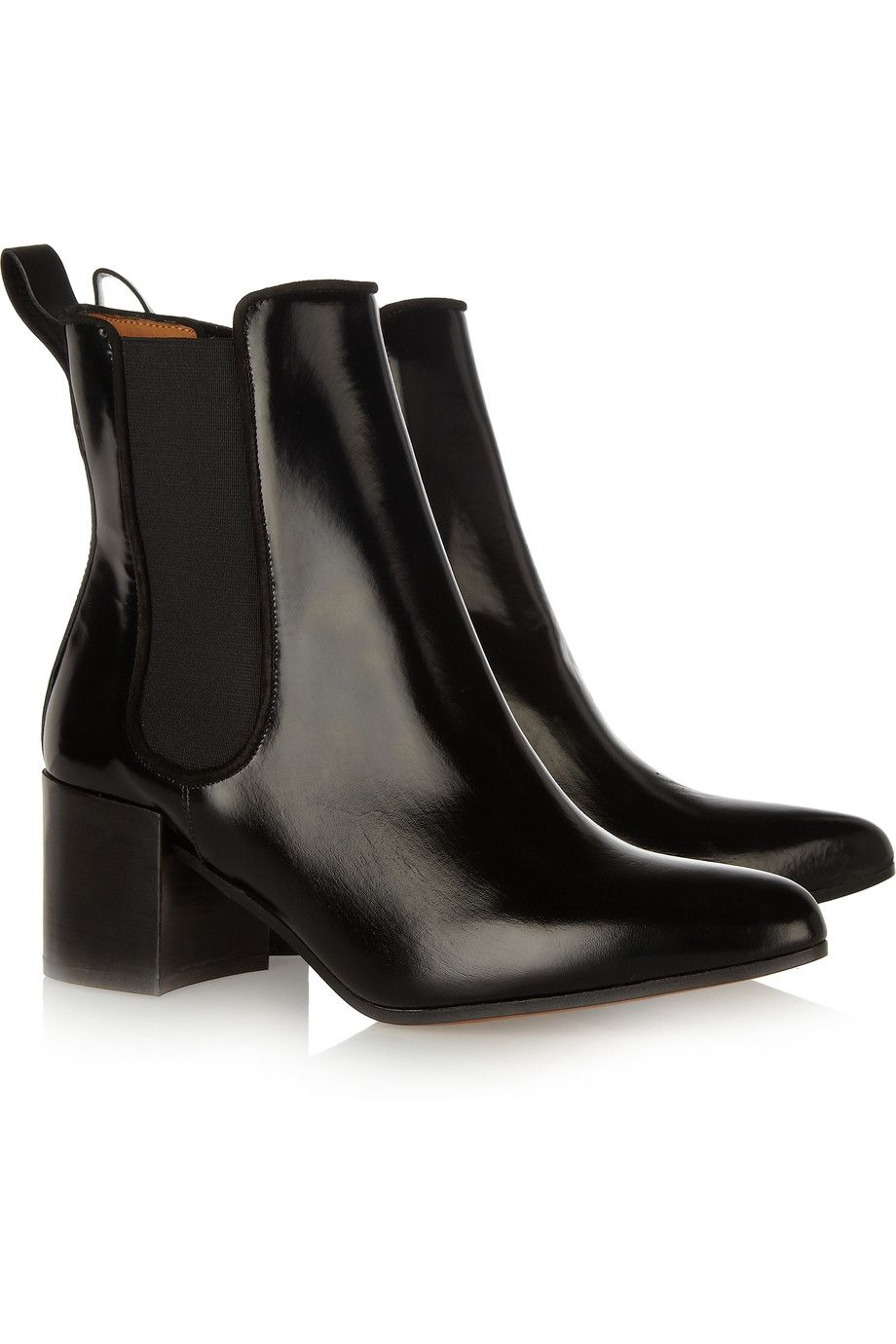 ACNE Free glossed-leather ankle boots   Shoes   Pinterest   Schuhe ... 7720a9d4eb