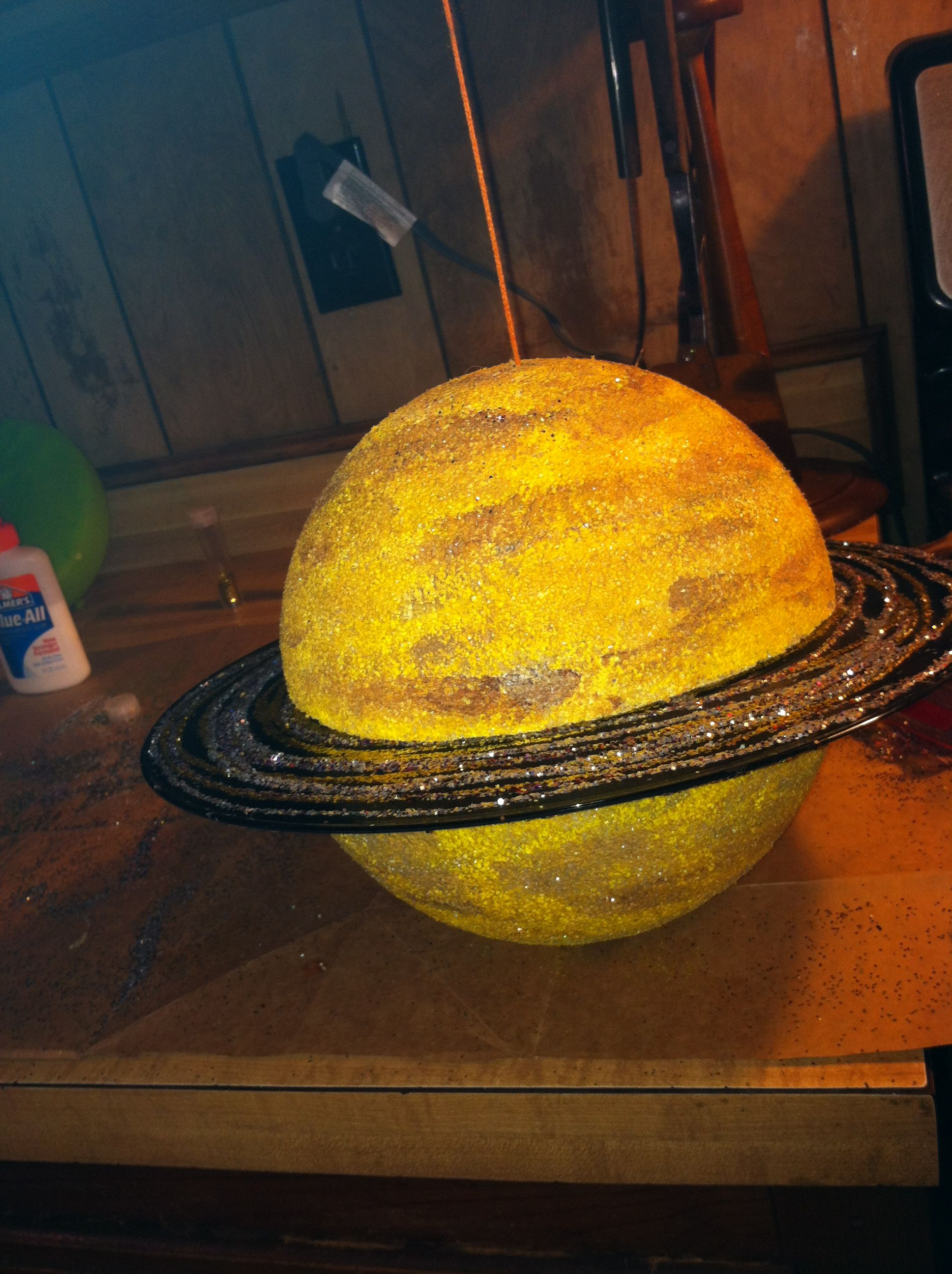 Blaze's model of Saturn | I made it! | Pinterest | Models ...