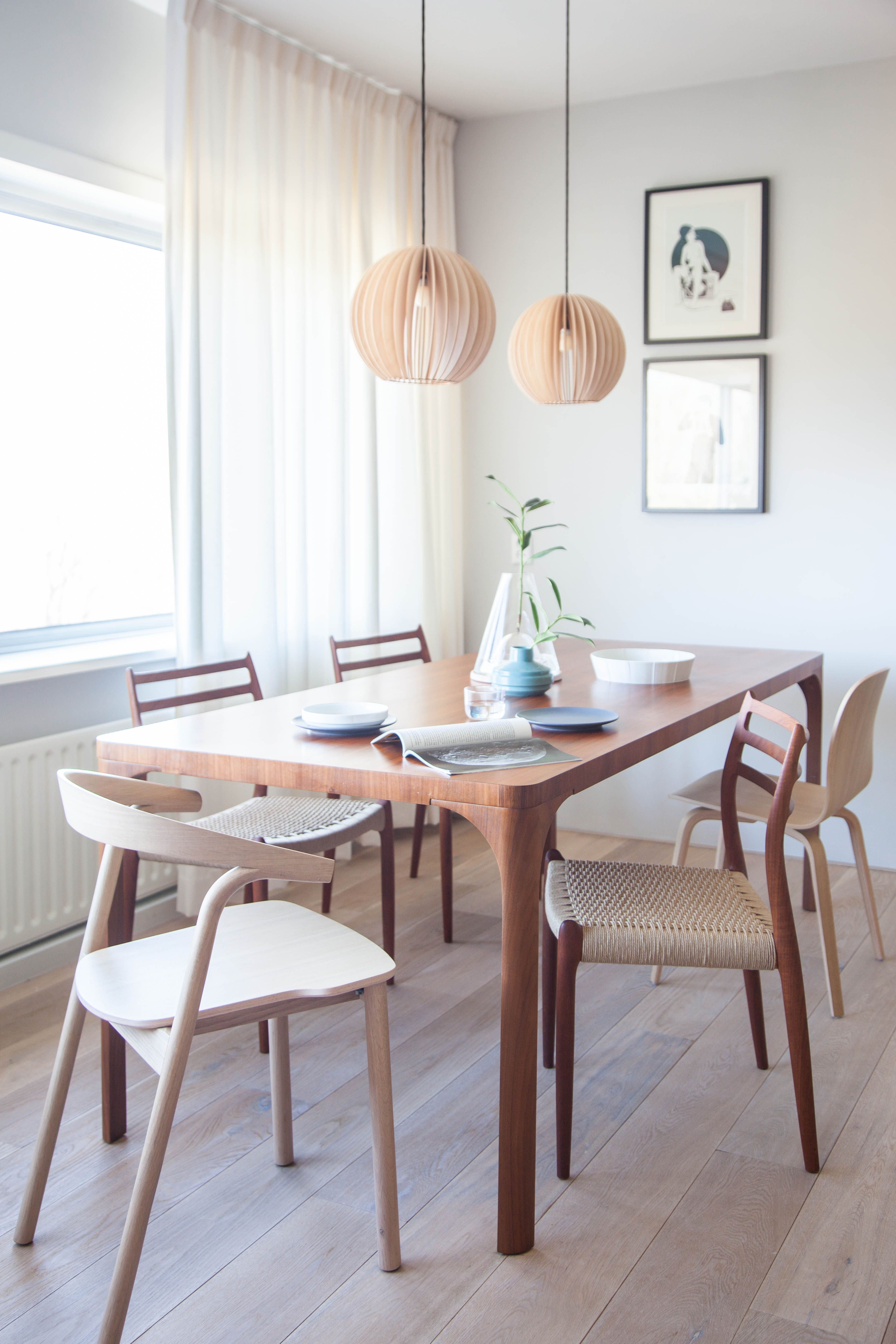 A Simplistic Vintageinfused Amsterdam Living Space Avenue Enchanting Dining Room Designs For Small Spaces Decorating Design