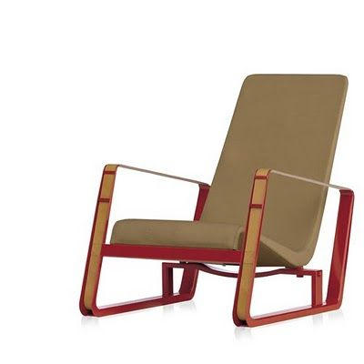 i love Jean Prouvé's Cité chair. But I could only afford to buy one if I won the lotto...