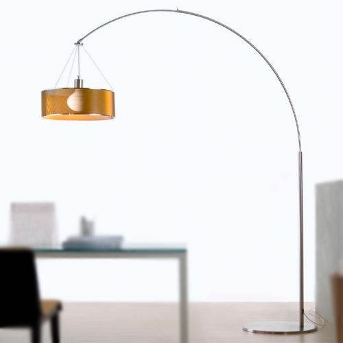 Steel Arc Floor Lamp Steel Arc Floor Lamps Costa Lamps Ylighting Long Floor Lamp Contemporary Floor Lamps Arc Floor Lamps