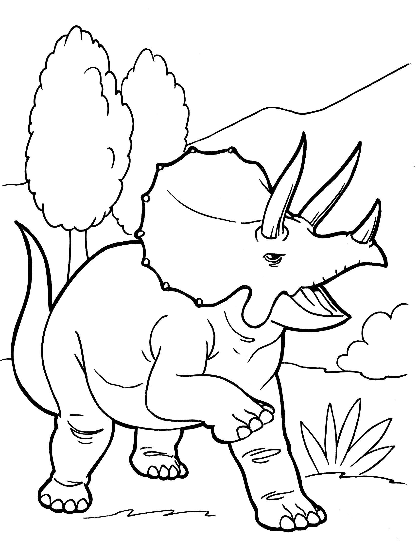 Dinosaur Paintings For Kids